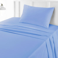 Tendance's Flat Sheet Single Aqua Blue 160X240
