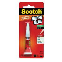 3M Scotch Super Glue Gel 0.07Oz 1 Tube