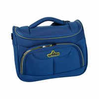 Track Vanity Hand Bag Size 12 Inch Royal Blue