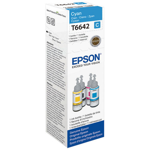 Epson-Ink-Bottle-T6642-Cyan