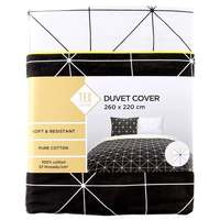 TEX Quilt Cover King White