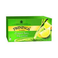 Twinings Green Lemon 25 Sachets 12 Count