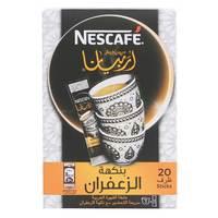Nescafe Arabiana With Saffron Flavor 20 Sticks