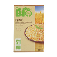 Carrefour Bio Grinded Whole Wheat 500g