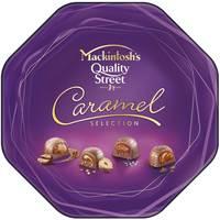 Mackintosh's Quality Street Caramel Selection Chocolate 255g Tin