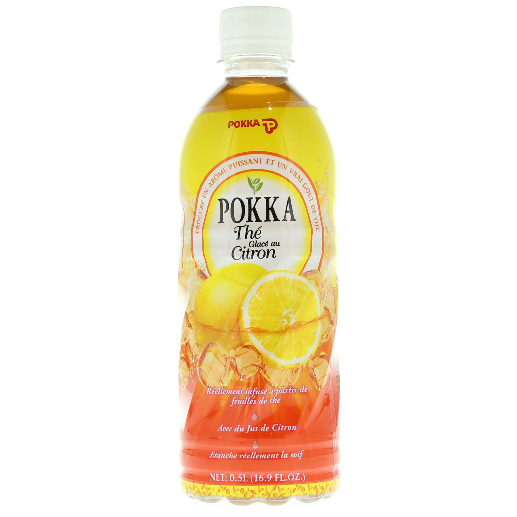POKKA ICE TEA LEMON 500ML