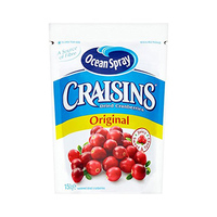 Ocean Spray Craisins Dried Cranberries Original 150g
