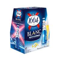 1664 Beer Blanc Malt 25CL X6