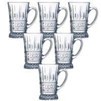 Luminarc Brestege Tea Mug 220 Ml 6 Pieces