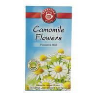 Teekanne Camomile Flowers Pleasant And Mild Herbal Infusion 20 Tea Bags