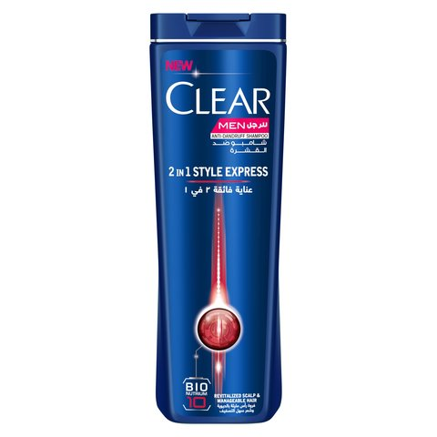 Clear-Men's-Anti-Dandruff-Shampoo-Style-Express-2in1-400ml