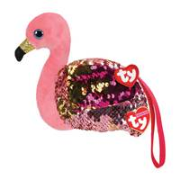 TY Fashion Sequin Wristlet – Gilda the Flamingo