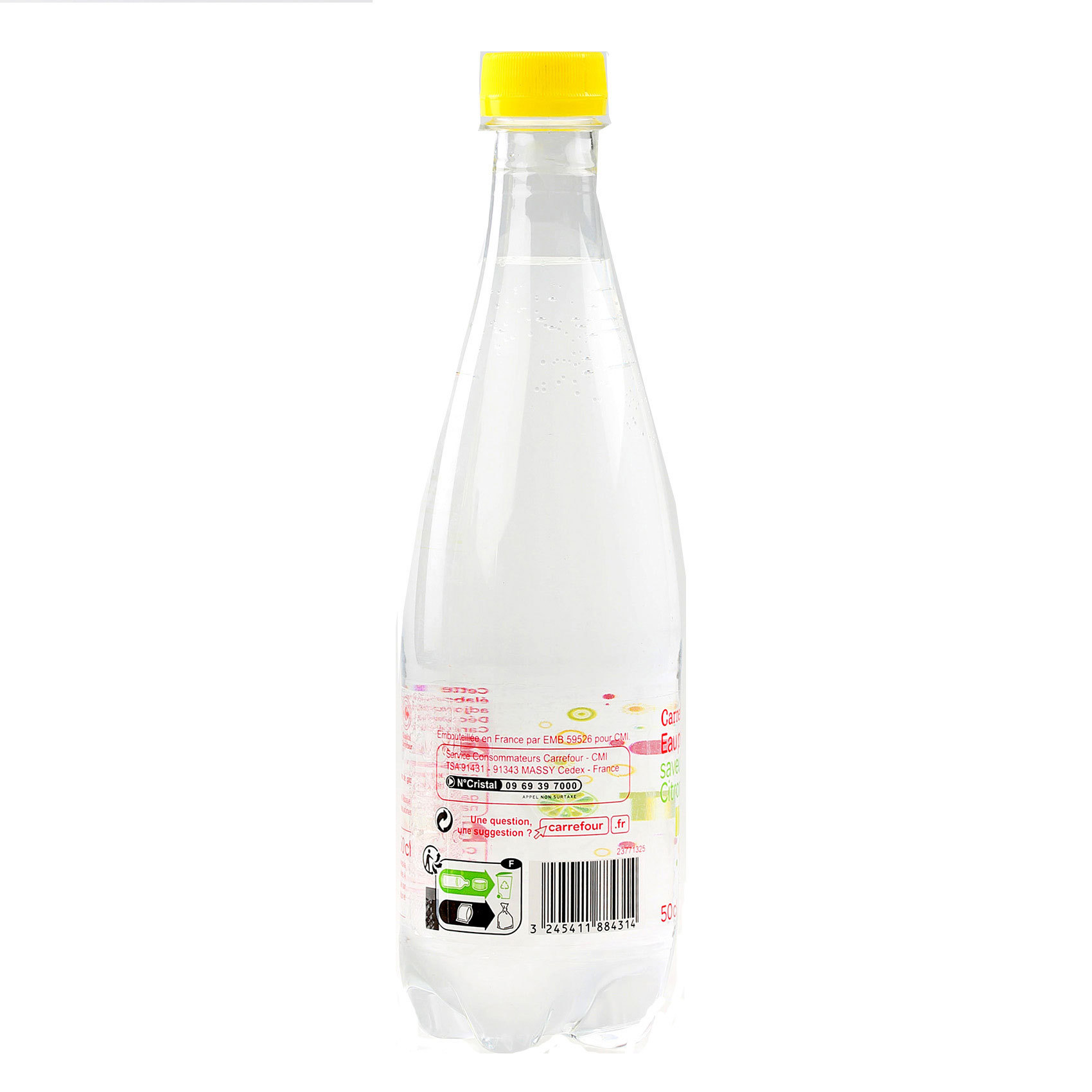 CRF SPARK WATER LEMON/LIME 50CL