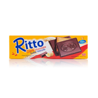 Ritto Biscuits Dark Chocolate Butter 125GR