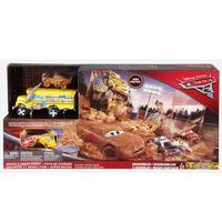 Mattel Disney Pixar Cars 3 Crazy 8 Crashers Smash & Crash Derby Playset