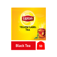 Lipton Yellow Tea Bags 2GX50'S