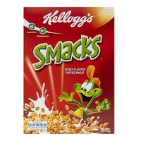 Kellogg's Smacks Honey Flavour Puffed Wheat 375g