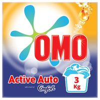 OMO Active Auto Laundry Detergent Powder with Comfort 3kg