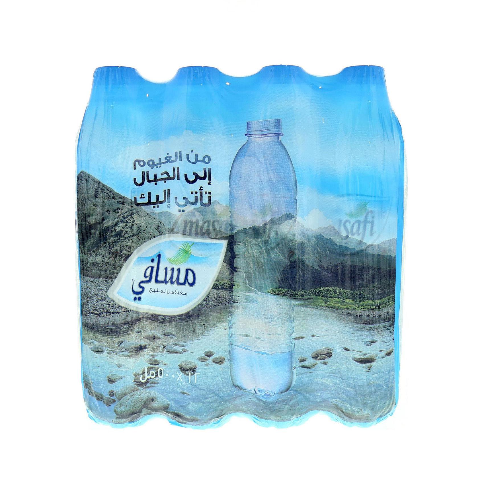 MASAFI MINERAL WATER 500MLX12