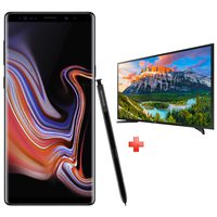 "Samsung Galaxy Note 9 (SM-N960FZ) Dual Sim 4G 512GB Black + Samsung 40"" LED TV"