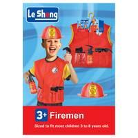 Chamdol Costume Fireman Set With Helmet