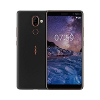 NOKIA Smartphone 7 Plus 64GB Nano Dual Sim Card Android Black