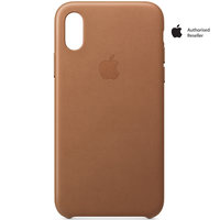 Apple Case iPhone XS Leather Brown
