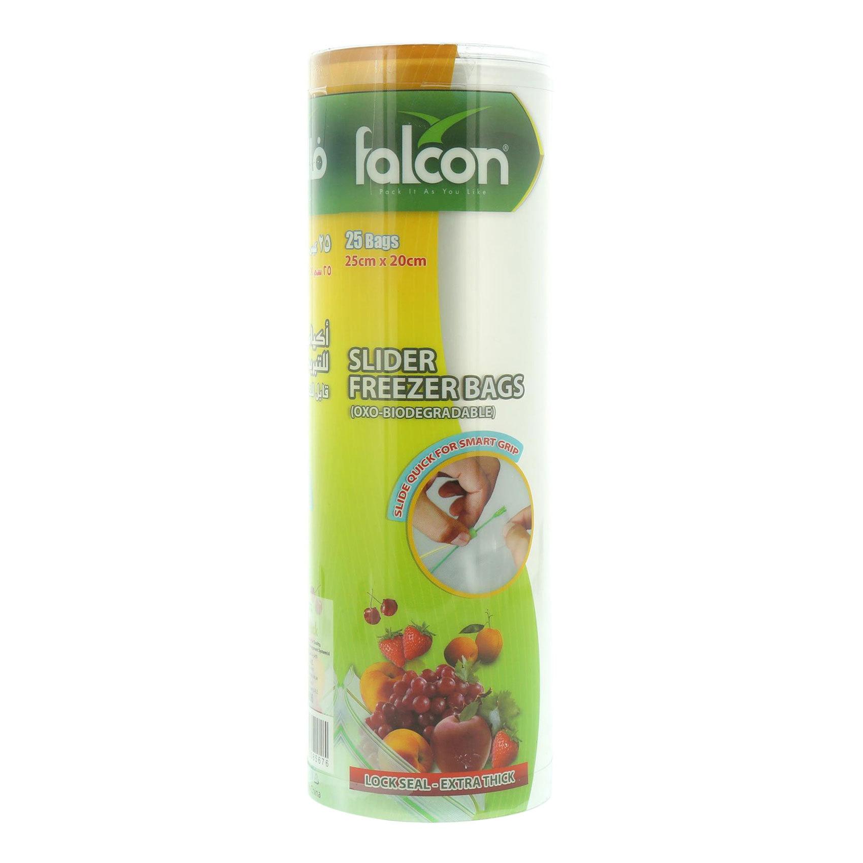 FALCON FREEZER BAG 25X20CM