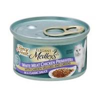 Fancy Feast Medleys White Meat Chicken Primavera Cat Food 85GR