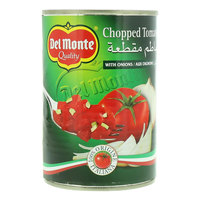 Del Monte Chopped Tomatoes With Onions 400g