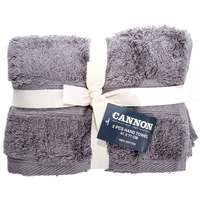 Cannon Hand Towel 2pc set Grey 41X71cm