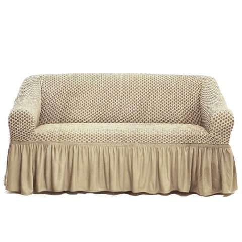 Tendance S Sofa Cover 2 Seater Beige