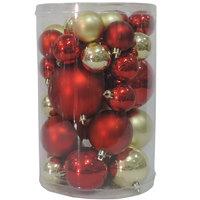 Balls Set 40Pcs Red/Gold