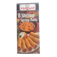 Al Kabeer 8 Shrimp Spring Rolls 280g