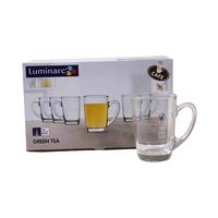 Luminarc New Morning Tea Mug Clear 220 Ml 6 Pieces