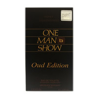 One Man Show for Men, Eau de Toilette Spray, Oud Edition 100ml
