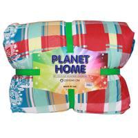 Planet Home Microfiber Comforter 220X240 Blue