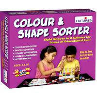 Creative's Educational Aids 0698 Colour and Shapes Sorter