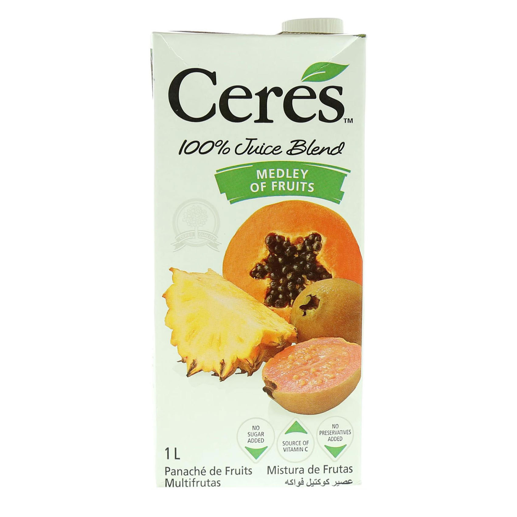 CERES JUICE MEDLEY OF FRUITS 1L