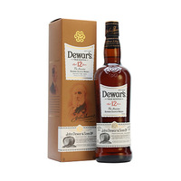 Dewar's 12 Years Old Scotch Whisky 75CL + Lindor