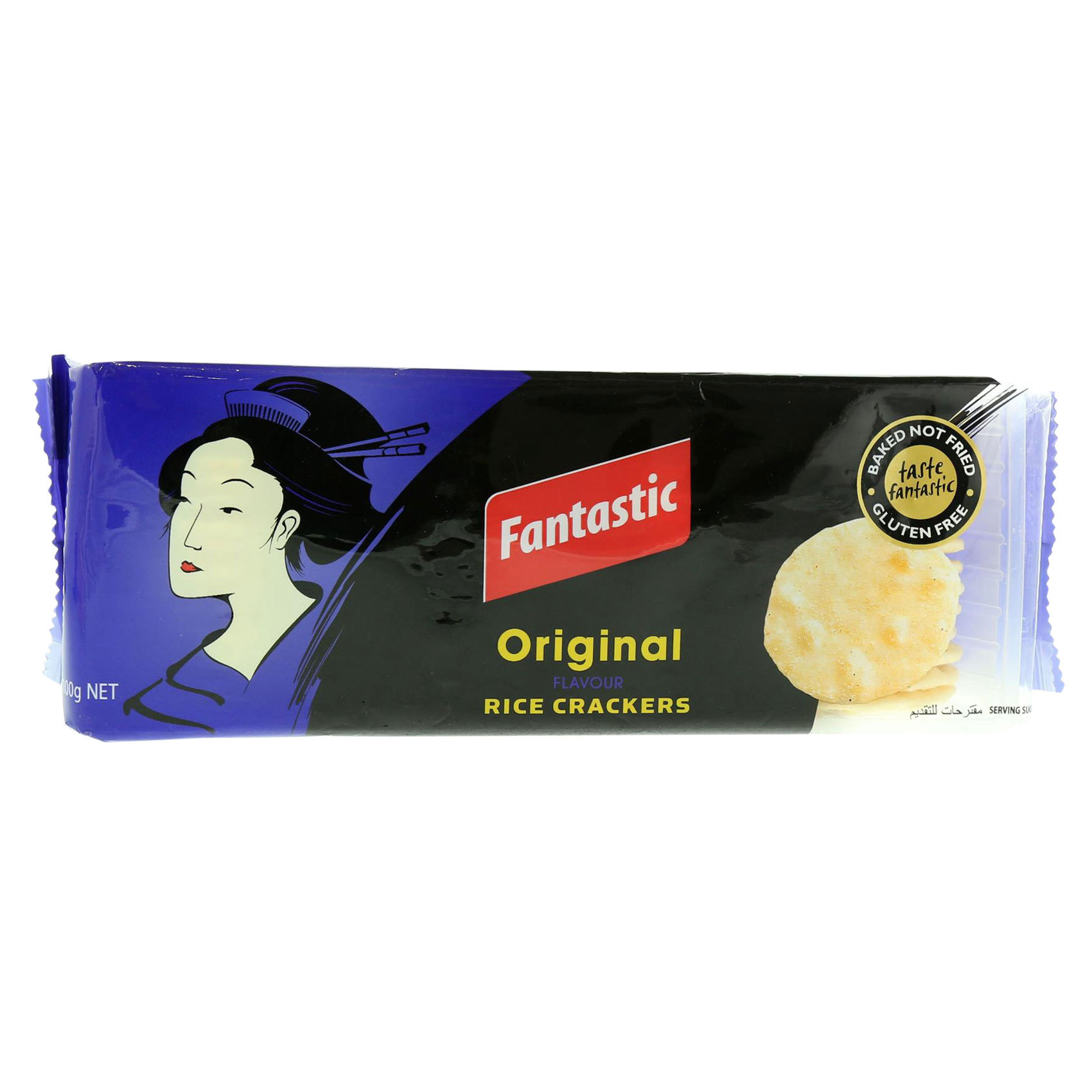 FANTASTIC RICE CRACKERS ORG 100GR