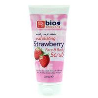 Bio Skincare Exfoliating Strawberry Face & Body Scrub 200ml