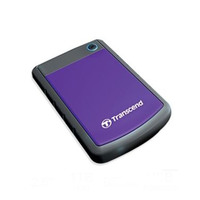Transcend StoreJet 25H3P Anti Shock Portable Hard Drive 1TB Purple