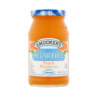 Smucker''s Peach Sugar Free Preserves 12.75GR