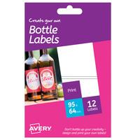Avery Bottle Label A6 Size HBL02