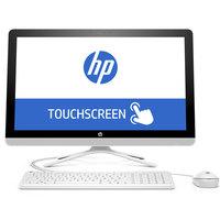 """HP All In One PC 24-e000ne i5-7200 8GB RAM 1TB Hard Disk 2GB Graphic Card 23.8"""" White"""