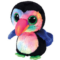 Ty Beanie Boos Bird Toucanbeaks Black 9""