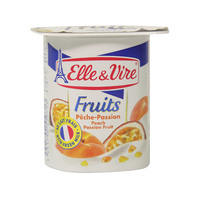 Elle & Vire Fruits Peach Passion Fruit 125g