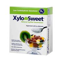 Xylo Sweet Xylitol Sweetener Sugarsweet With No Aftertaste 100 Gram 4 Pieces