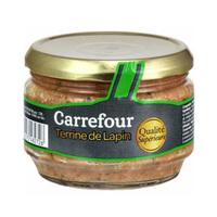 Carrefour Pate Lapin Verrine 180GR